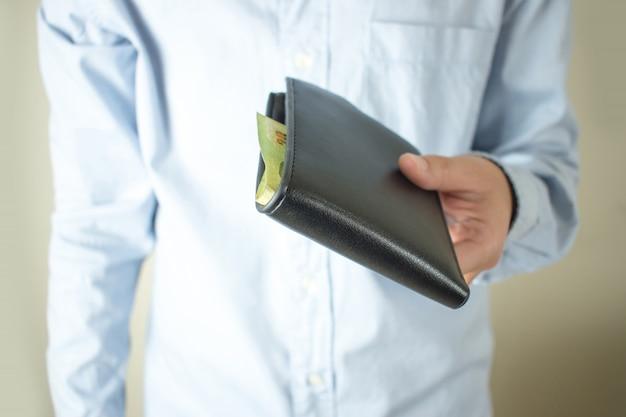 No hay dinero en el negocio dinero de bolsillo, dinero de bolsillo.