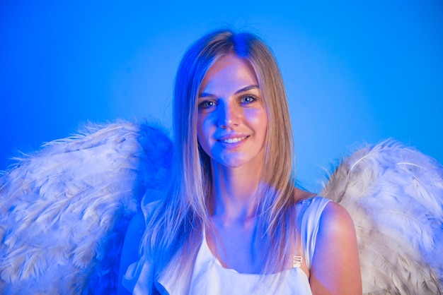 Noche ángel valentines ángel niña día de san valentín cupido día de san valentín día de san valentín cupido niña en
