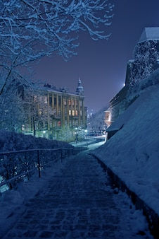 Una noche de invierno