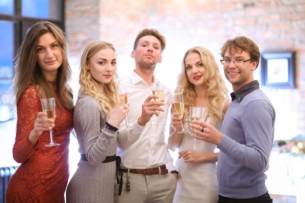 Nochebuena con amigos