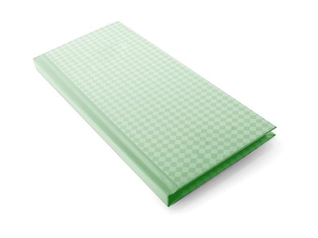 Nota de papel aislada sobre fondo blanco.