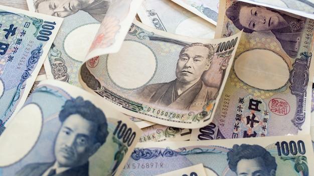 Notas del yen japonés