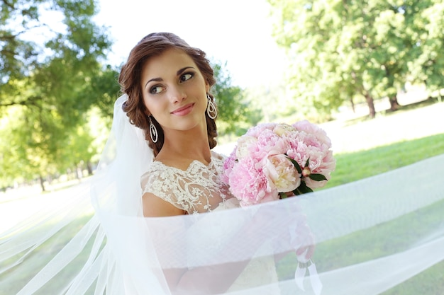 Novia el día de la boda
