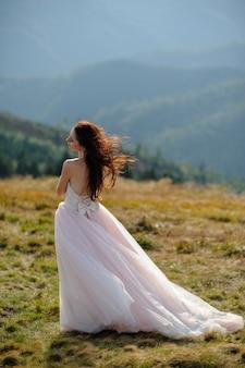 Novia en las montañas