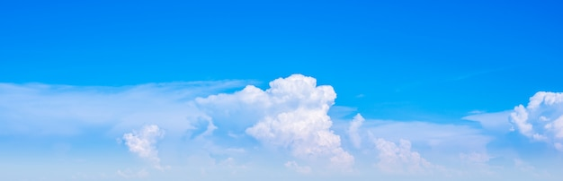 Nube cielo horizontal