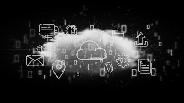 Nube de representación multimedia en 3d