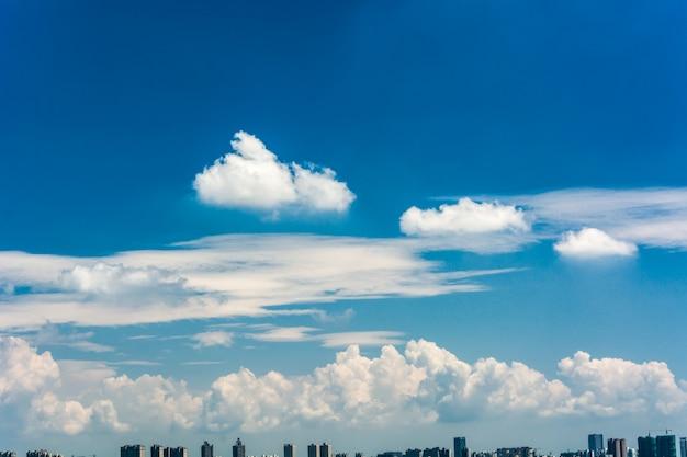 Nubes de cielo
