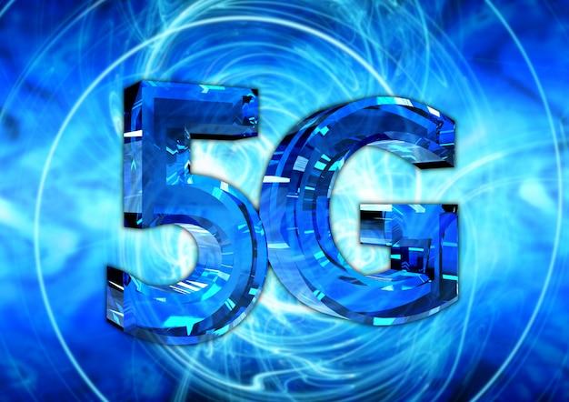 Nueva conexión inalámbrica 5g a alta velocidad.