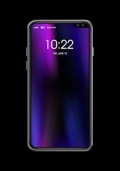 Nueva maqueta de teléfono inteligente