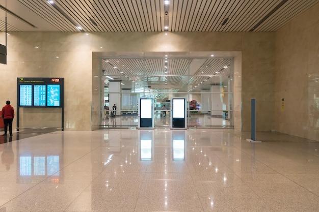 Una nueva sala de embarque en el aeropuerto.