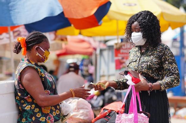 Nuevo estilo de vida normal - áfrica