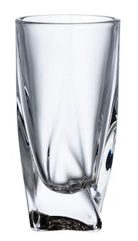 Nuevo vaso vacío aislado