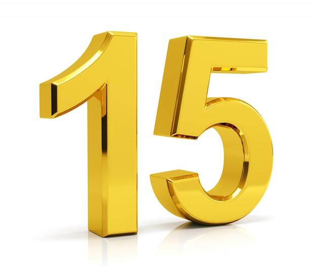 Número 15