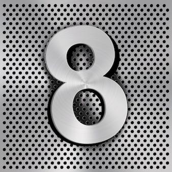 Numero ocho