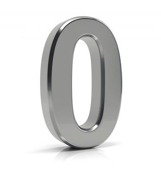 Número de plata 0