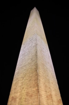 El obelisco en washington, estados unidos