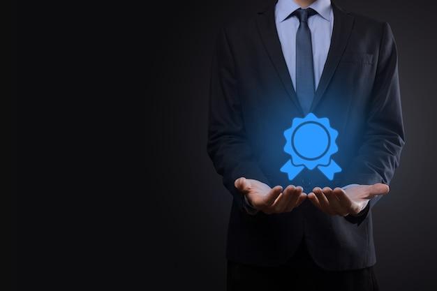 El objetivo empresarial y tecnológico establece objetivos y logros en la resolución del año nuevo 2021