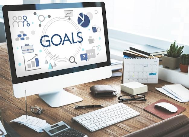 Objetivo de los objetivos de expansión del emprendedor