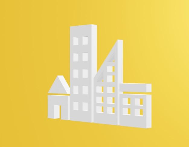 Objetivos de desarrollo sostenible ícono de ciudades y comunidades sostenibles