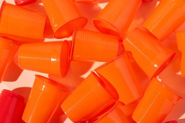 Objetos de plástico no ecológicos