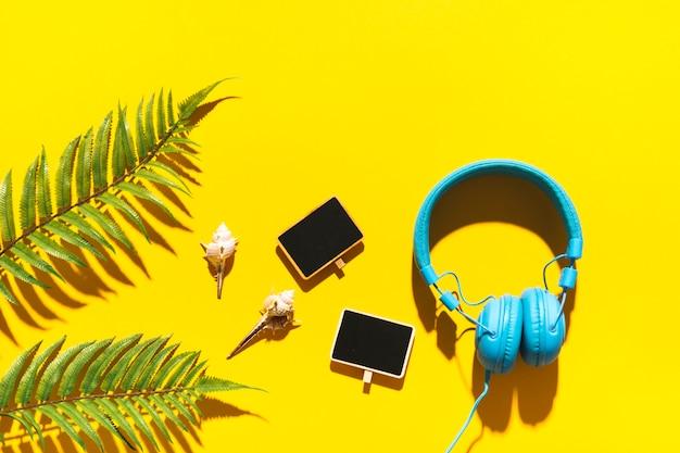 Objetos de playa accesorios y decorativos.