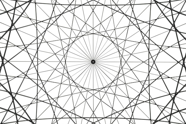 Obra de arte arquitectónico abstracto