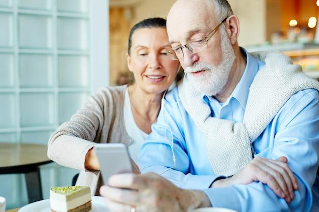 Ocio de personas mayores