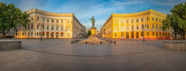 Odessa seaside boulevard en ucrania