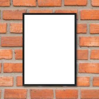 Oficina blanca interior del cartel de la pared