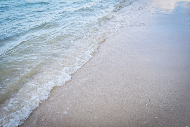 Ola playa fondo oceano mar y arena