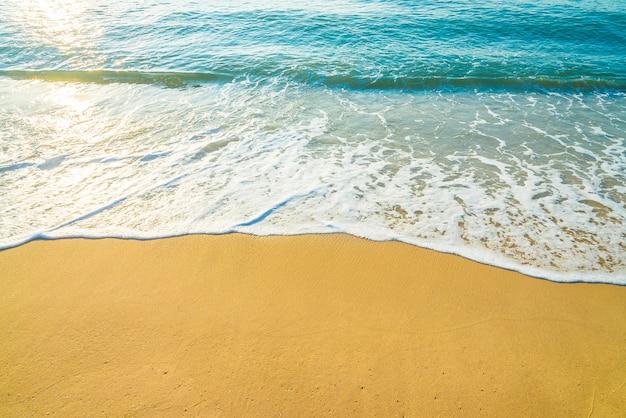Ola playa del mar