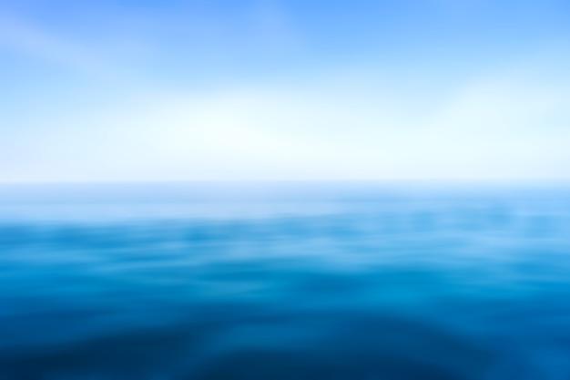 Las olas del mar azul superficie patrón de fondo abstracto