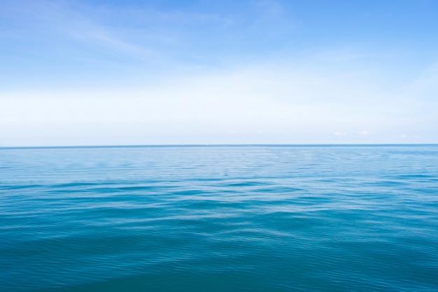 Ondas azules del mar patrón de fondo abstracto de superficie