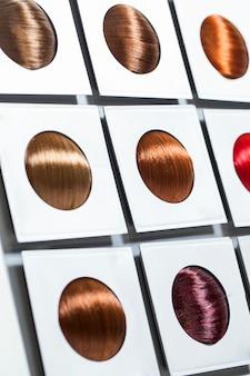 Opciones de tono de cabello