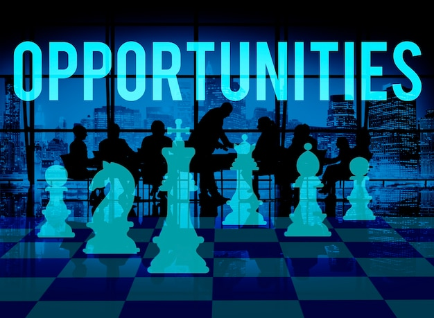 Oportunidades oportunidad chance choice decision concept