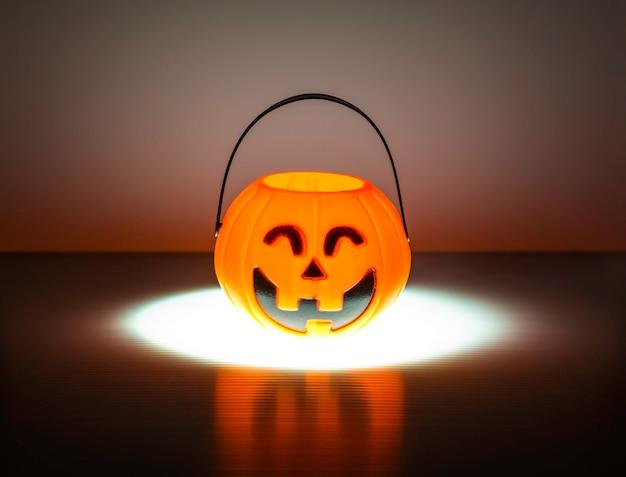 Orange halloween jack o linterna