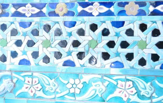 Ornamento de  mezquita islámica