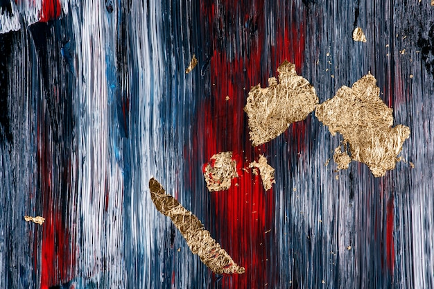 Oro en papel tapiz de fondo con textura, arte abstracto
