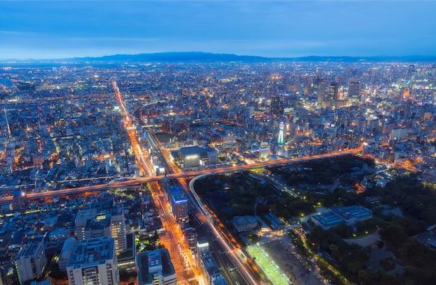 Osaka ciudad de abeno harukas