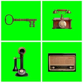 Pack de objetos antiguos