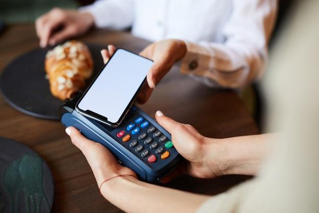 Pagando con smartphone