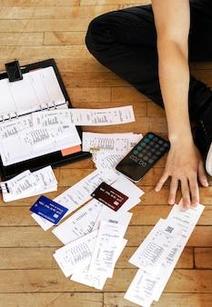 Pagar facturas en línea a través de la banca por internet