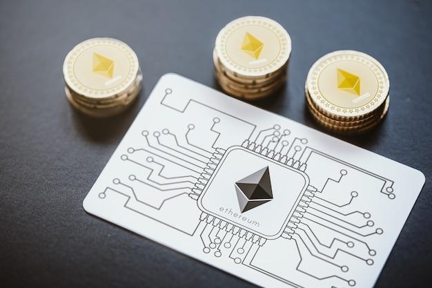 Pago con tecnología ethereum.