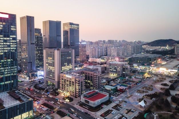 Paisaje de arquitectura de la ciudad de china qingdao