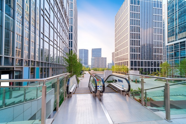 Paisaje de arquitectura urbana