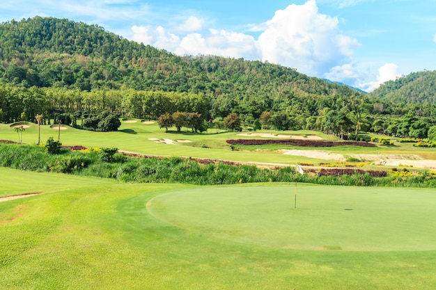 Paisaje del campo de golf