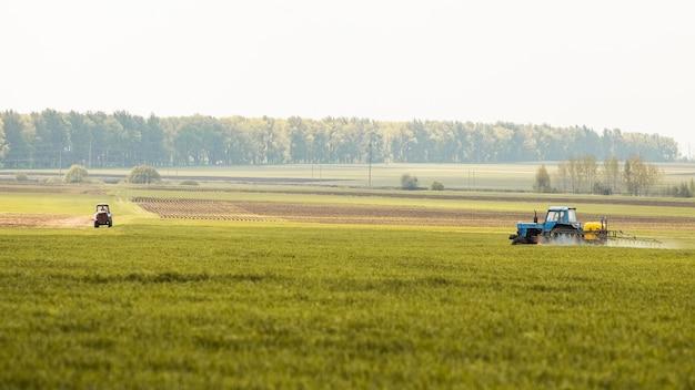 Paisaje de campo de granja