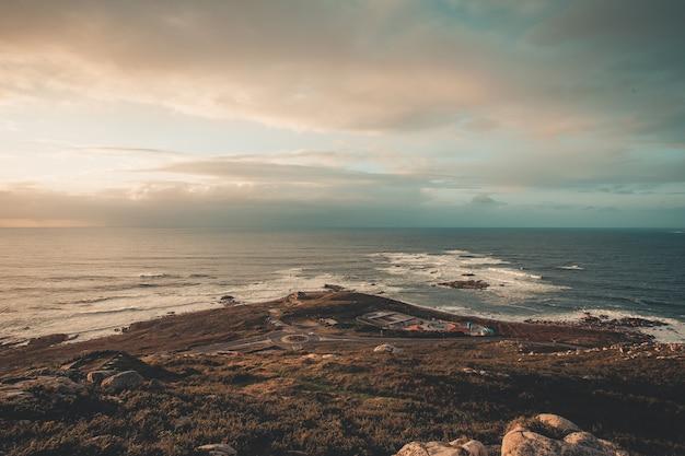 Paisaje de la costa gallega