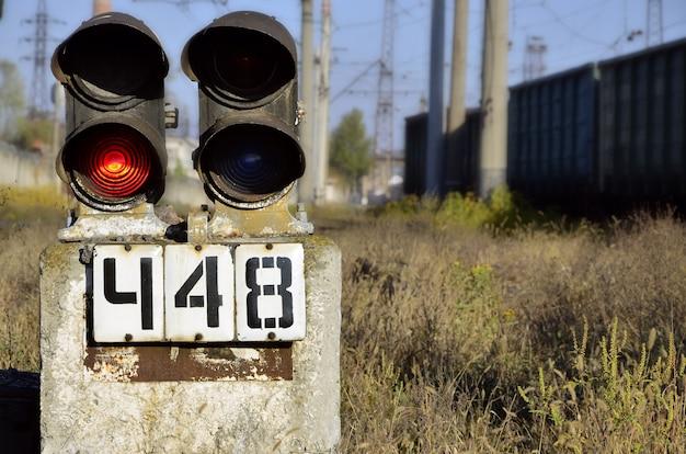 Paisaje ferroviario mañana