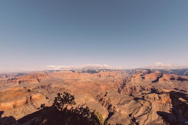 Paisaje del gran cañón de arizona